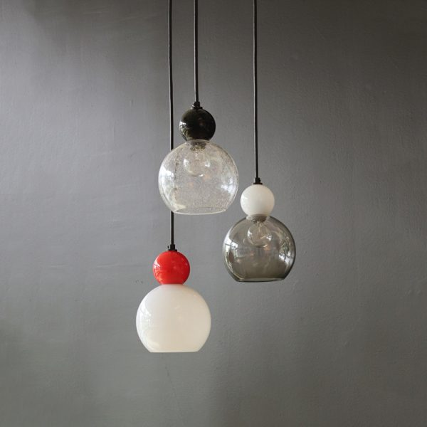 Adorn In Glass - Globe 06-S with opaque ball