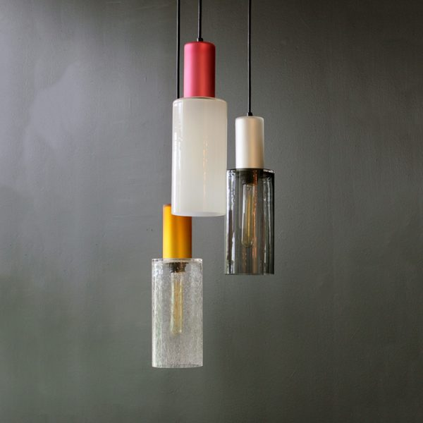 Adorn In Glass Cylinder-C with pearl cylinder