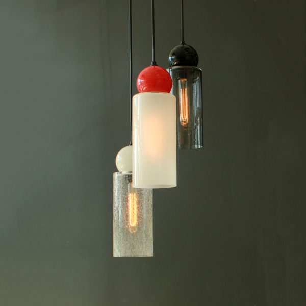 Adorn In Glass Cylinder-S with opaque ball