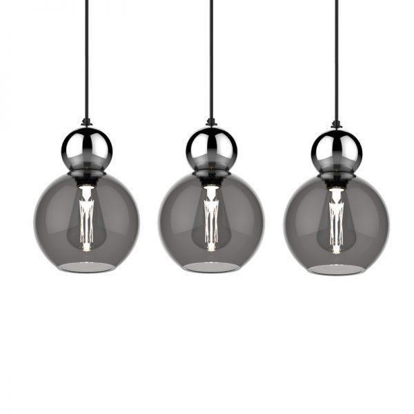 Adorn grey 08-s globe with round accessory