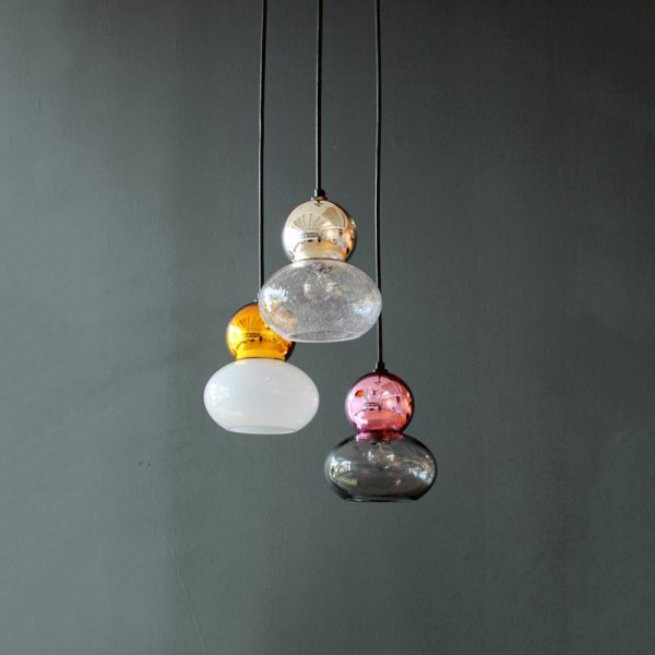 Adorn oval with mirror ball