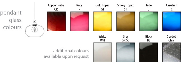 Domo Oval-D Pendant Colours