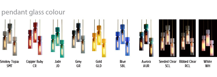 Nomi Pendant Colours